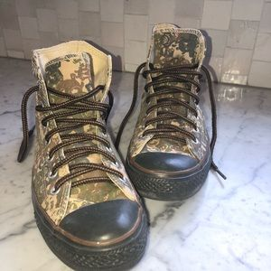 Converse All Star Camo Hightops